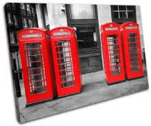 London Telephone Box Landmarks - 13-1706(00B)-SG32-LO